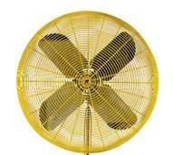 TPI Corp HDH24 Heavy Duty Yellow 24 Fan Head 12 HP 2 Speed-1
