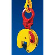 Terrier .75 TSU .75 Ton Universal Lifting Shackleclamp For Steel Plates Vertical & Horizontal-1