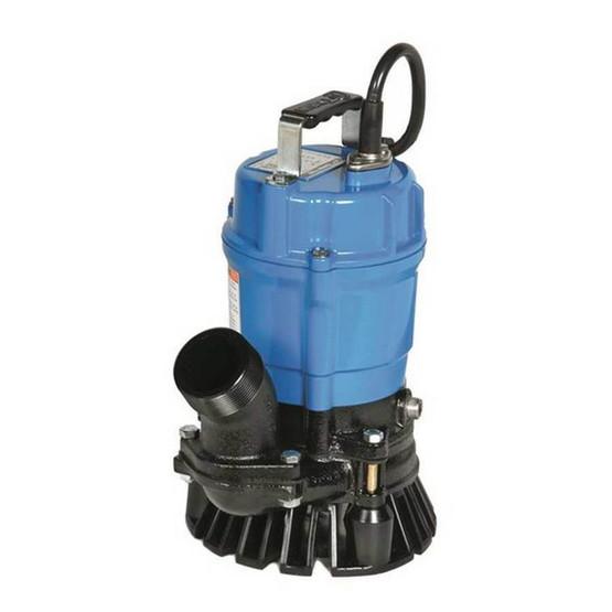 Tsurumi HS3.75S Manual Electric 1 Hp Trash Pump-1