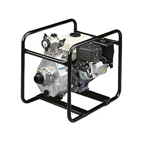 Tsurumi THP-4070HA High Pressure 5.5 Hp Engine Powered Pump For Sprinkling Irrigation And Fire Protection-2