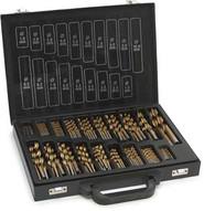 Tekz 11170 170 Piece Titanium Coated Drill Bit Box-1