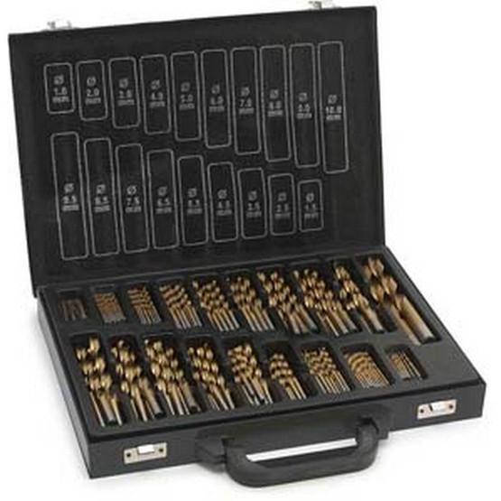 Tekz 11170 170 Piece Titanium Coated Drill Bit Box-2