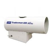 LB White Tradesman 400 Ultra 170000-400000 Btuh LPGNG DUAL FUEL Portable Forced Air Heater W Self Diagnostics-1