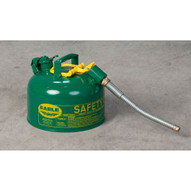 Eagle Manufacturing U2-26-SG 2 Gallon Type Ii Green Safety Can W 7 8 O.d. Pour Spout-1