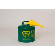 Eagle Manufacturing U2-26-SX5G 5 Gallon Type Ii Green Safety Can W 5 8 O.d. Pour Spout-1