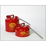 Eagle Manufacturing U2-51-S 5 Gallon Type II Red Safety Can W 7 8 O.d. Pour Spout-1