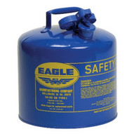 Eagle Manufacturing UI-50-SB 5 Gallon Type I Blue Safety Can-1