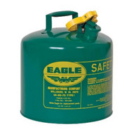 Eagle Manufacturing UI-50-SG 5 Gallon Type I Green Safety Can-1
