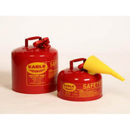 Eagle Manufacturing UI-50FS TYPE I SAFETY CAN WITH FUNNEL 5 gal capacity-1