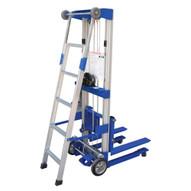 Vestil A-LIFT-EHP-LAD Hand Winch Option - Truck Ladder-2