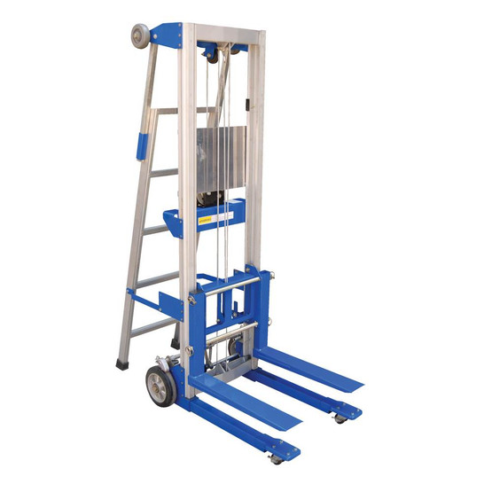 Vestil A-LIFT-LAD Hand Winch Lift Option - Ladder-1