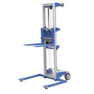 Vestil A-LIFT-S-HP Hand Winch Lift Truck - Straddle-1