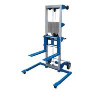 Vestil A-LIFT-S Hand Winch Lift Truck - Straddle-2