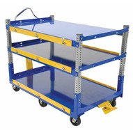 Vestil AEC-3660-3-MR Adjustable Ergo Cart 36 X 60 Mr-2