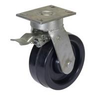 Vestil AHA-6-TLC 8 x 3 in. Aluminum Gantry Crane Caster with Total Lock
