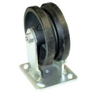 Vestil AHS-6 8-V Steel Gantry Crane - V-groove Wheels-1