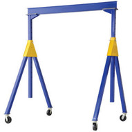 Vestil AHSN-8-20-14 Knock-down Adjustable Steel Gantry 8k 20 X 14-4