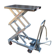 Vestil AIR-800-D-PSS Air Hydraulic Steel Cart-1