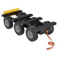 Vestil ALL-T-D6W-1000 All Terrain Si X Wheel Dolly 1000 Lb Capacity-1