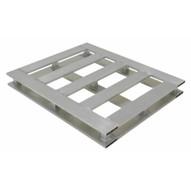 Vestil AP-4048-4W Heavy Duty Aluminum Pallet 4-way 40 X 48-2