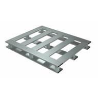 Vestil AP-4048-SB Heavy Duty Aluminum Pallet 4k 40 X 48 Skid Bottom-1