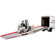 Vestil AY-209336-L Aluminum Yard Ramp With Aluminum Grating-1