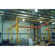 Vestil B1020-1000 Bridge Crane-self Support 1k 240 X 140-1