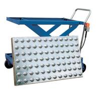 Vestil BALL-4048 Blue Powder Coat Ball Transfer Platform-1