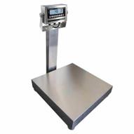 Vestil BS-915SS-1212-100 Bench Scale Ss 12 X 12 100 Lb Capacity-1