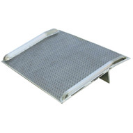 Vestil BTA-08005460 Aluminum Truck Dockboard With Side Curbs-1