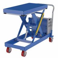 Vestil CART-1000-2040-DC Hydraulic Elevating Cart 20 X 40 1000capacity 12 Vdc-1