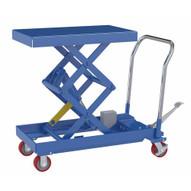 Vestil CART-1000-2040-FP Hydraulic Elevating Cart 20 X 40 1000capacity Foot P-1