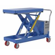 Vestil CART-2000-2040-DC Hydraulic Elevating Cart 20 X 40 2000capacity 12 Vdc-1