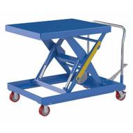 Vestil CART-2000-3240-FP Hydraulic Elevating Cart 32 X 40 2000capacity Foot P-1