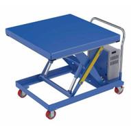 Vestil CART-2000-4242-DC Hydraulic Elevating Cart 42 X 42 2000capacity 12 Vdc-1