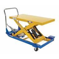 Vestil CART-24-15-M-PSS Foot Pump Scissor Cart Pss 1.5k 48 X 24-1