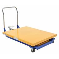 Vestil CART-40-15-M Foot Pump Powered Scissor Cart 1.5k 48 X 40-1