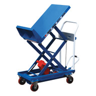 Vestil CART-400-LT Sequence Select Lift & Tilt Steel Cart-5