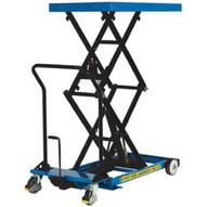 Vestil CART-600-D-FR Heavy Duty Premium Double Scissor Cart-1