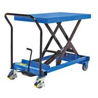 Vestil CART-600-S-FR Heavy Duty Premium Single Scissor Cart-1