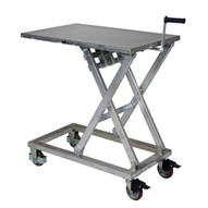 Vestil CART-660-M-PSS Mechanical Steel Scissor Cart-1