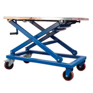 Vestil CART-660-M Mechanical Steel Scissor Cart-2
