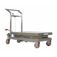 Vestil CART-800-D-SS Stainless Steel Dbl Scissor Cart 800#-3