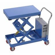 Vestil CARTD-1000-2033-DC Hydraulic Elevating Cart 20 X 33 1000capacity 12 Vdc-1