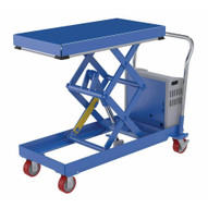 Vestil CARTD-750-2040-DC Hydraulic Elevating Cart 20 X 40 750capacity 12 Vdc-1