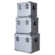 Vestil CASE-A Aluminum Storage Cases - Set Of 3-4