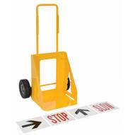 Vestil CCONE-S-1 Traffic Cone Cart Single-2