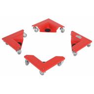 Vestil CMD-S-300-4PK Corner Mover Dolly-1