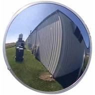 Vestil CNVX-26-O Outdoor Acrylic Security Mirror 26in Dia-1