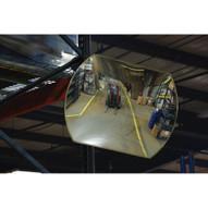 Vestil CNVX-2618 Industrial Rectangular Acrylic Mirror-1